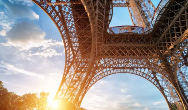 Eiffelturm von unten – Foto