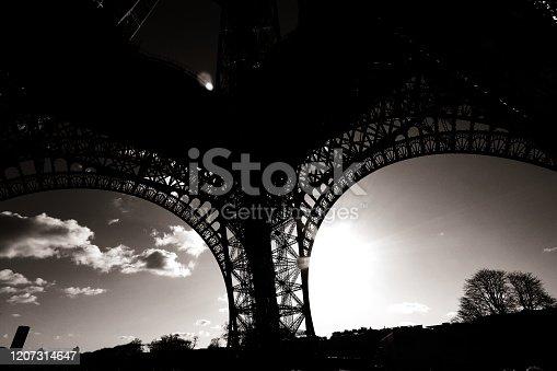 istock Eiffel tower in paris 2 1207314647