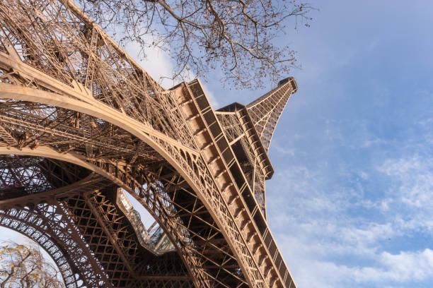 Torre Eiffel en París. Francia - foto de stock