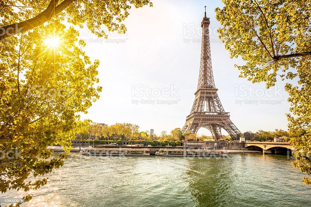Eiffelturm in Paris, Frankreich Lizenzfreies stock-foto