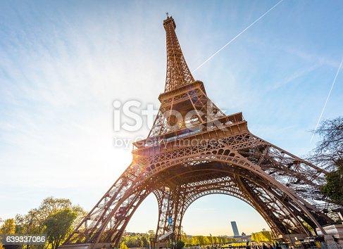 istock Eiffel Tower in Paris, France 639337086