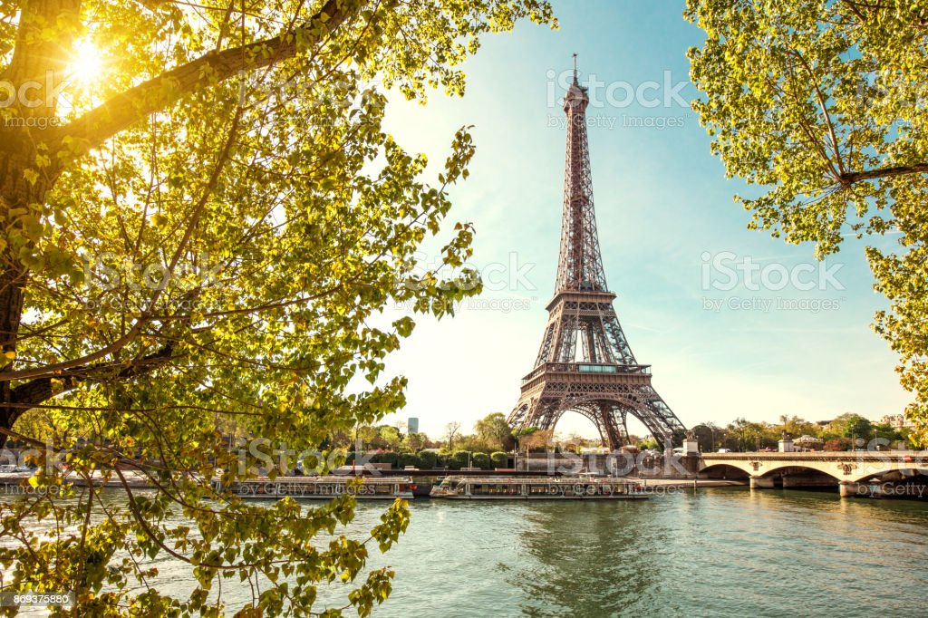 Eiffel Tower In Paris France Stock Photo Download Image Now Istock