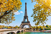 istock Eiffel Tower in Paris, France 924891460