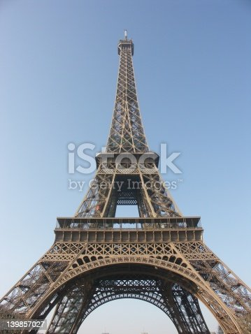 istock Eiffel tower in Paris 139857027