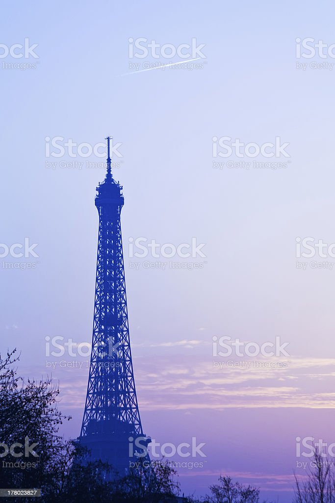 eiffel tower in Paris royalty-free stock photo