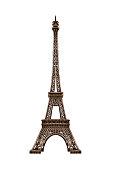 istock Eiffel tower isolated. 637171370