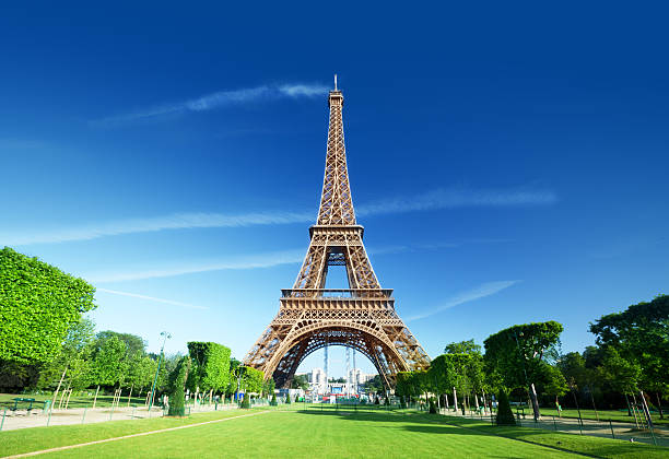 eiffel tower, paris. france. - eiffel tower stock photos and pictures