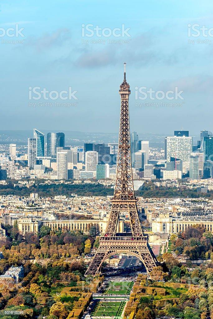Eiffel Tower, Paris - France stock photo