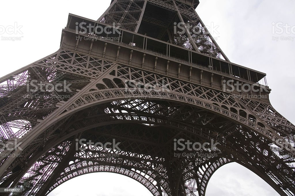 Eiffel Tower, Paris, France royaltyfri bildbanksbilder