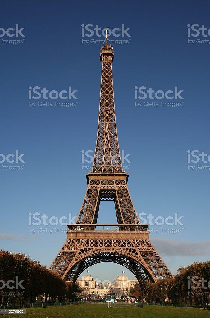 Eiffel Tower- Paris stock photo