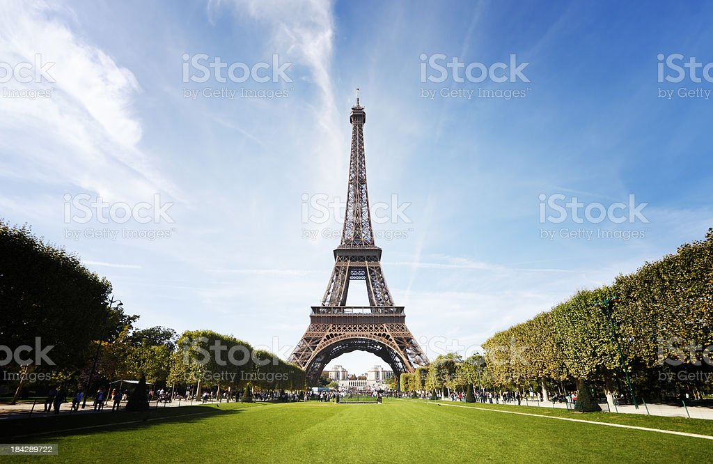 Eiffel Tower, Paris stock photo