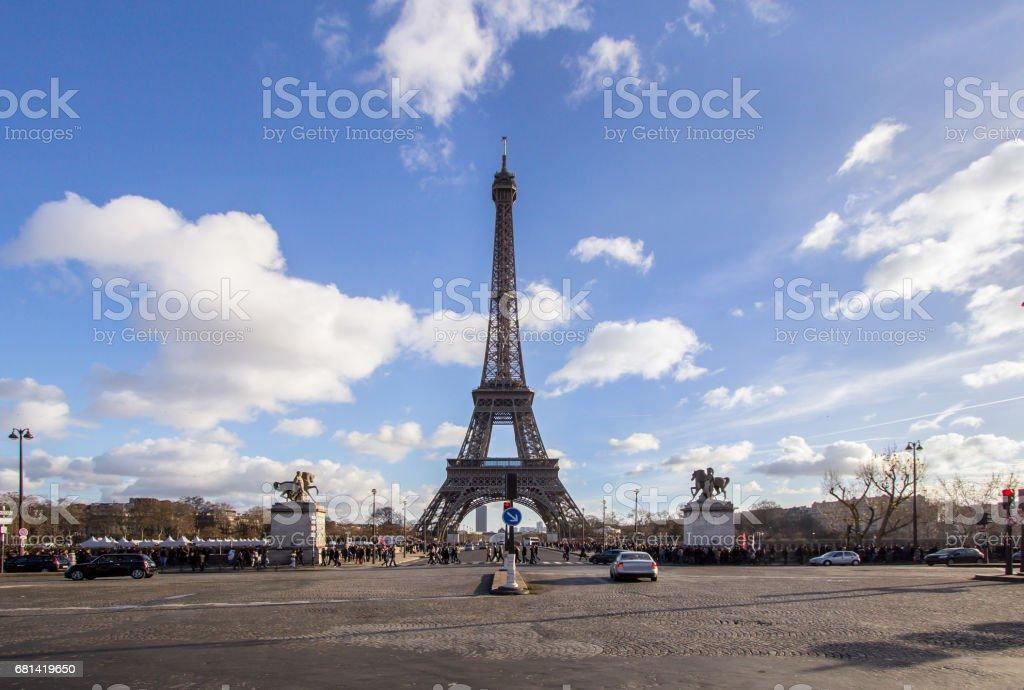 Eiffel Tower, Paris royalty-free stock photo