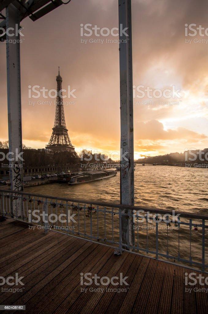Eiffel Tower, Paris photo libre de droits