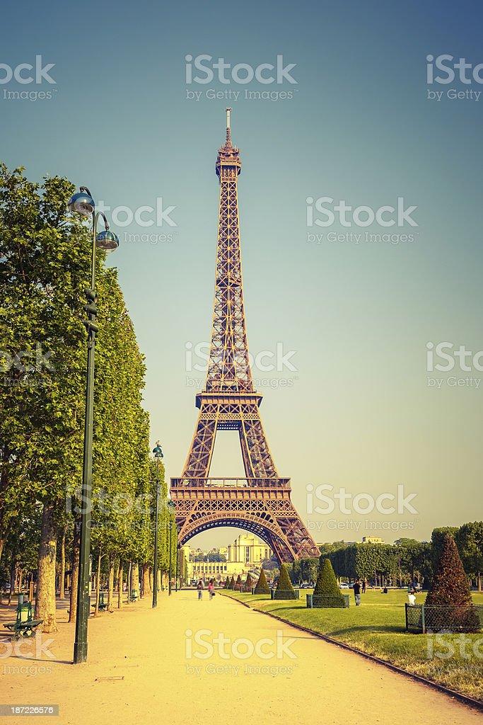Eiffel Tower royalty-free stock photo