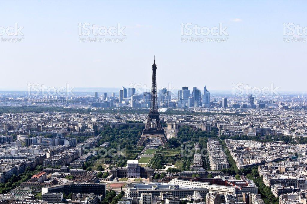 Eiffel Tower foto de stock royalty-free