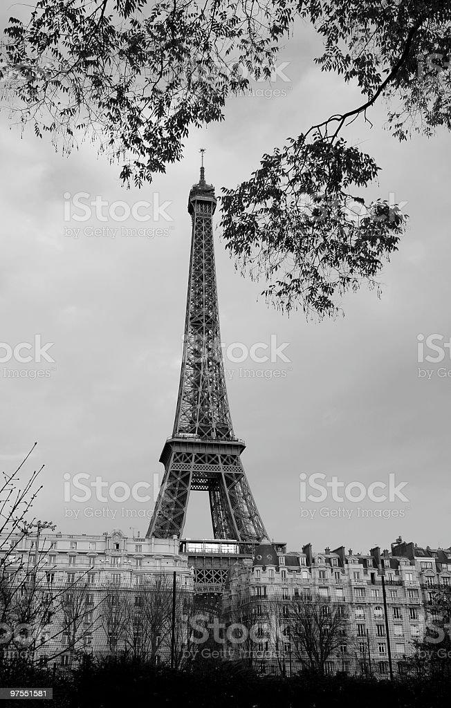 La Tour Eiffel photo libre de droits