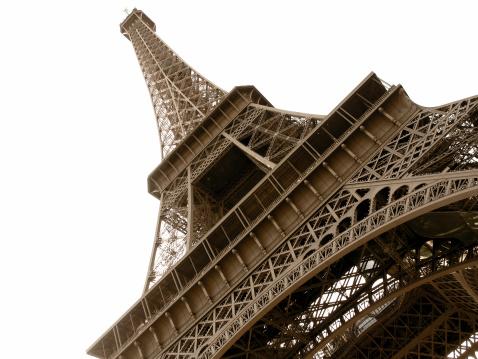 Eiffel Tower Angled
