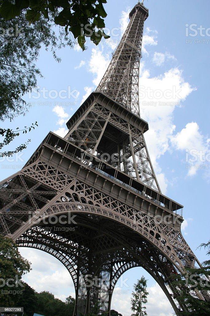 Torre Eiffel foto stock royalty-free