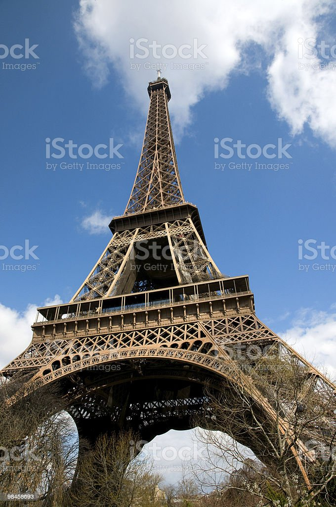 Eiffel Tower royalty-free 스톡 사진