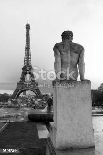 Eiffel Tower Stock Photo & More Pictures of Architecture