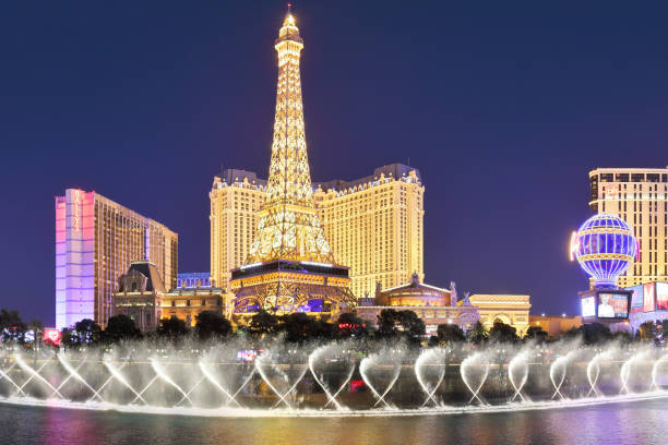 Eiffel Tower Replica  - Las Vegas stock photo