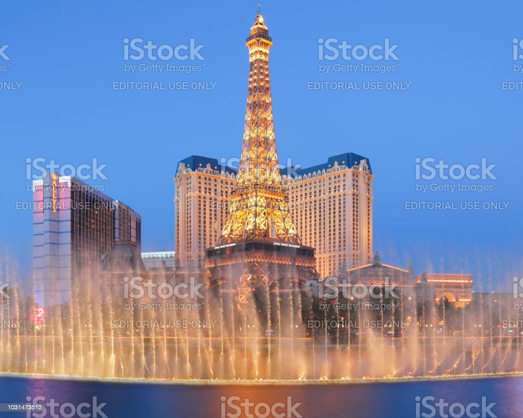 Eiffel Tower Replica  - Paris - Las Vegas stock photo