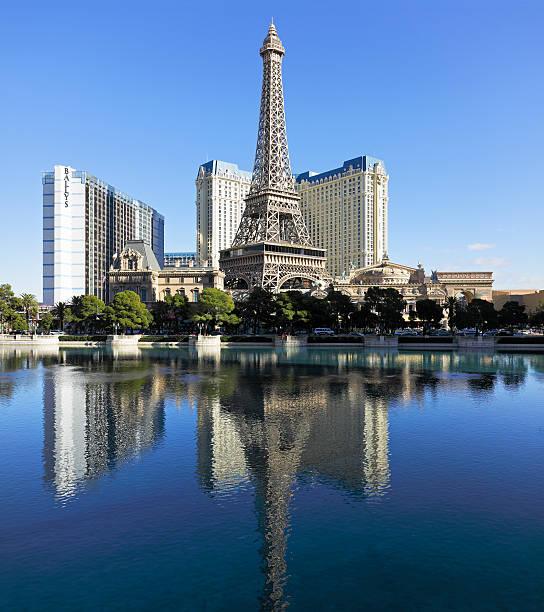 Eiffel Tower Replica - Paris Las Vegas stock photo