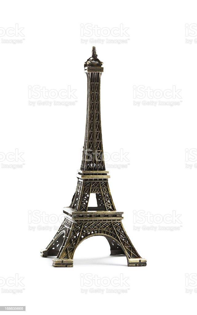 Eiffel tower replica stock photo