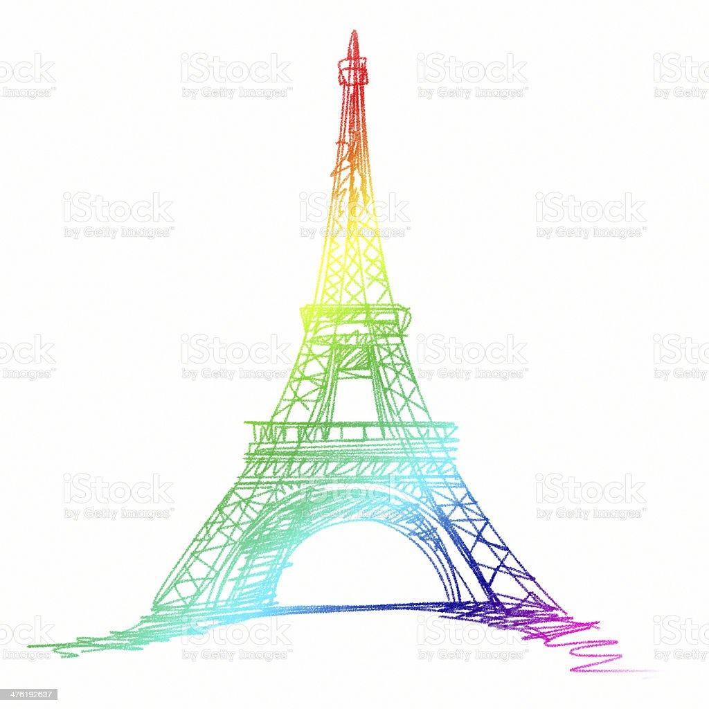 Tour Eiffel Dessin Banque D'Images, Vecteurs Et Illustrations ...