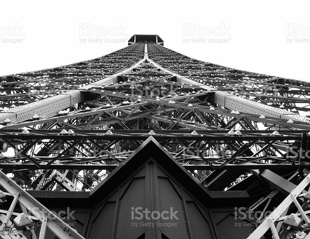 Eiffel Tower-A new perspective royalty-free stock photo