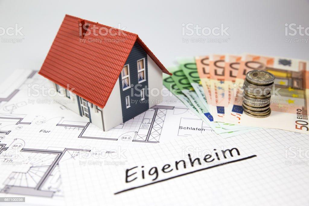 Eigenheim stock photo