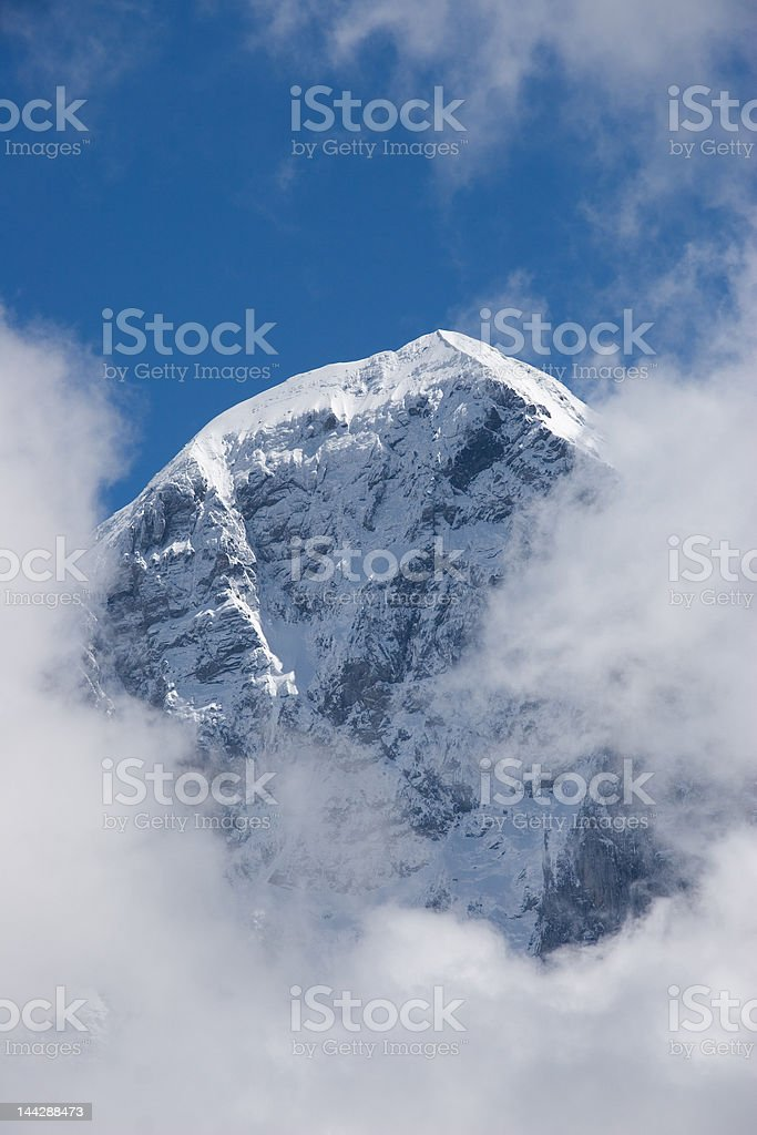 Eiger mountain royalty-free stock photo
