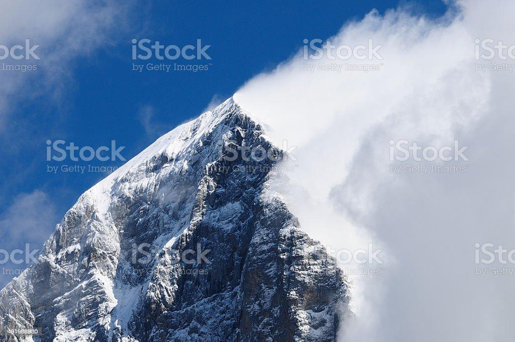 Eiger mountain stock photo
