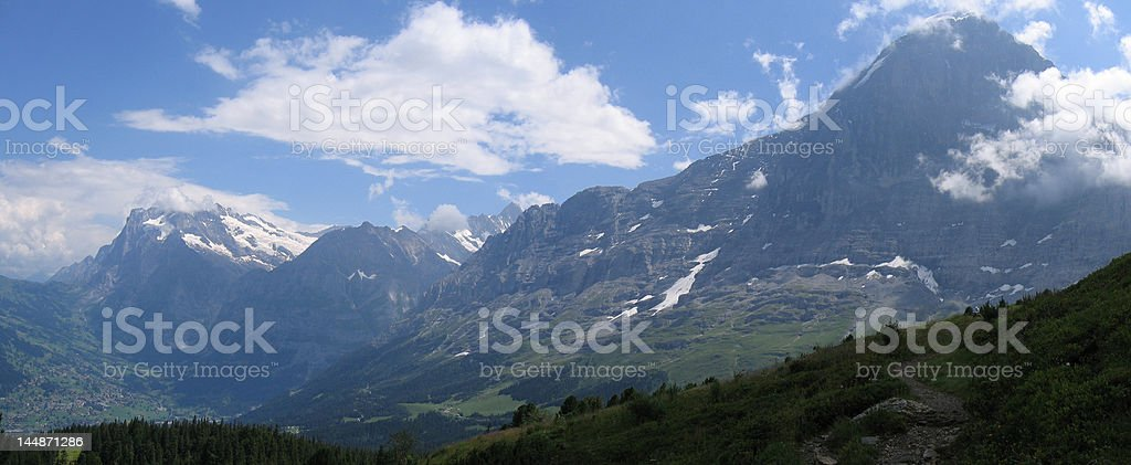 Eiger North Face royalty-free stock photo