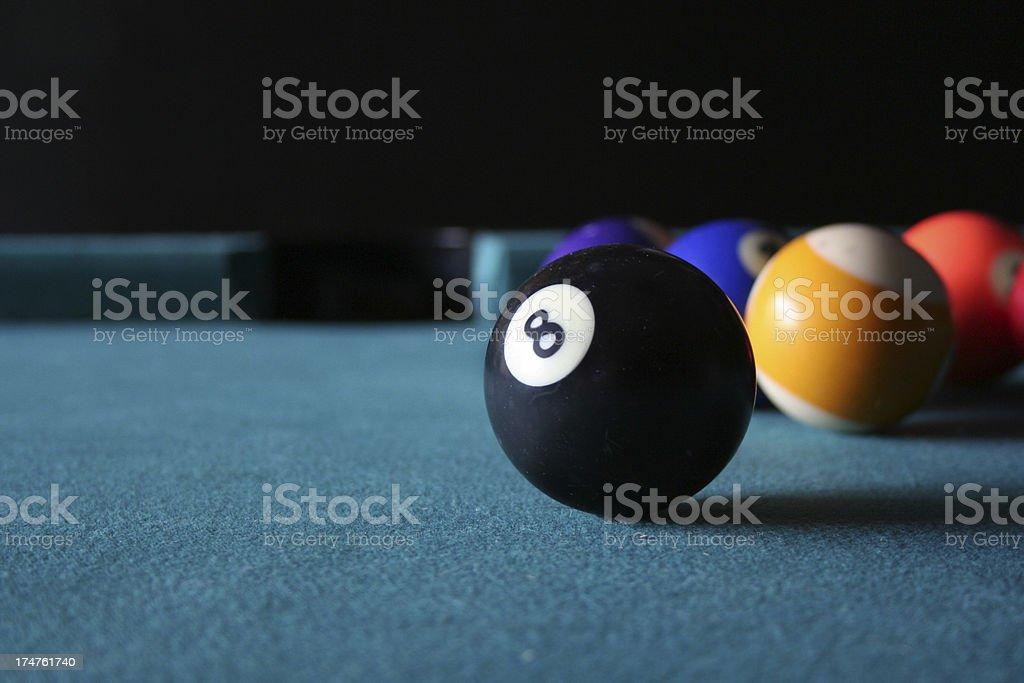 Eight Ball in Sight stock photo