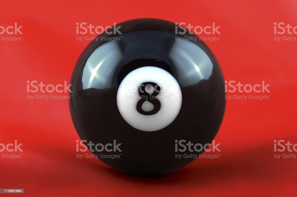 Eight Ball royalty-free stock photo