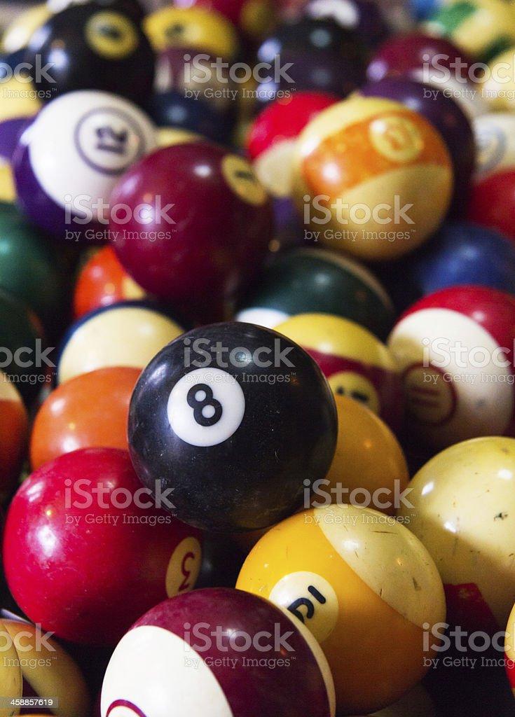 Eight Ball Vertical stock photo