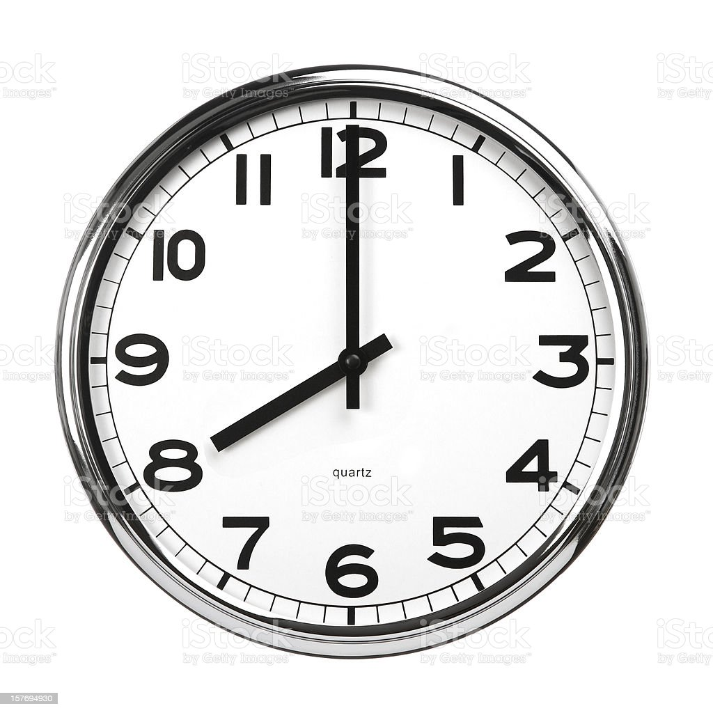 eight oclock stock photo  u0026 more pictures of clock