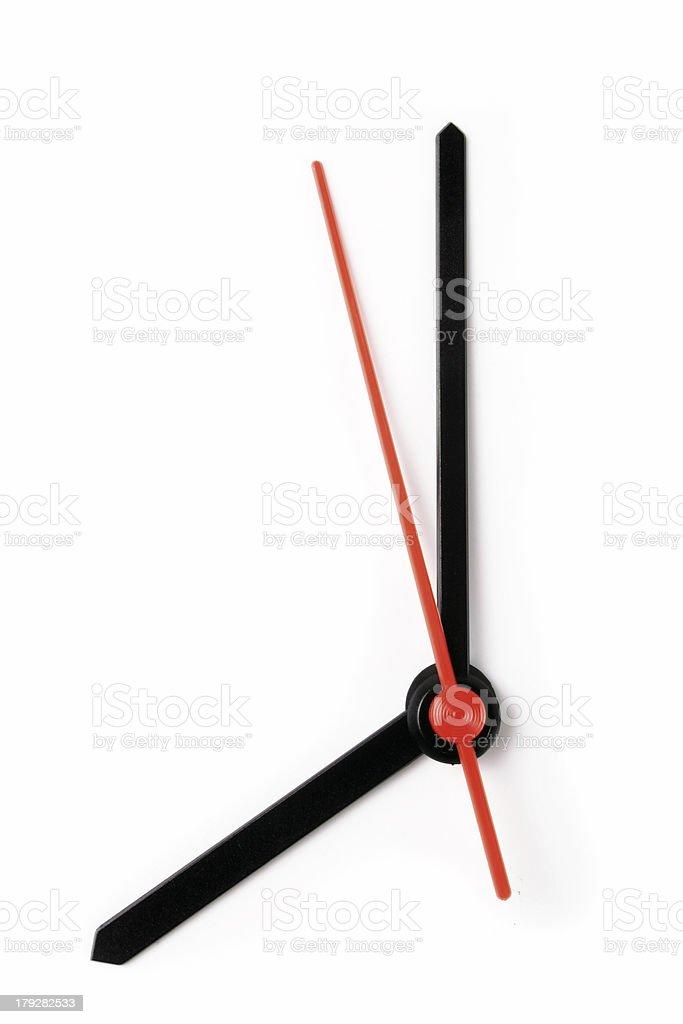 Eight o'clock royalty-free stock photo