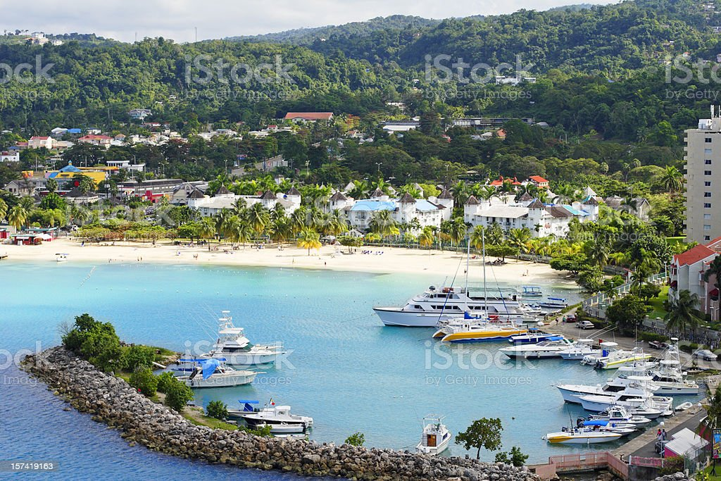 Ocho Rios Jamaica stock photo