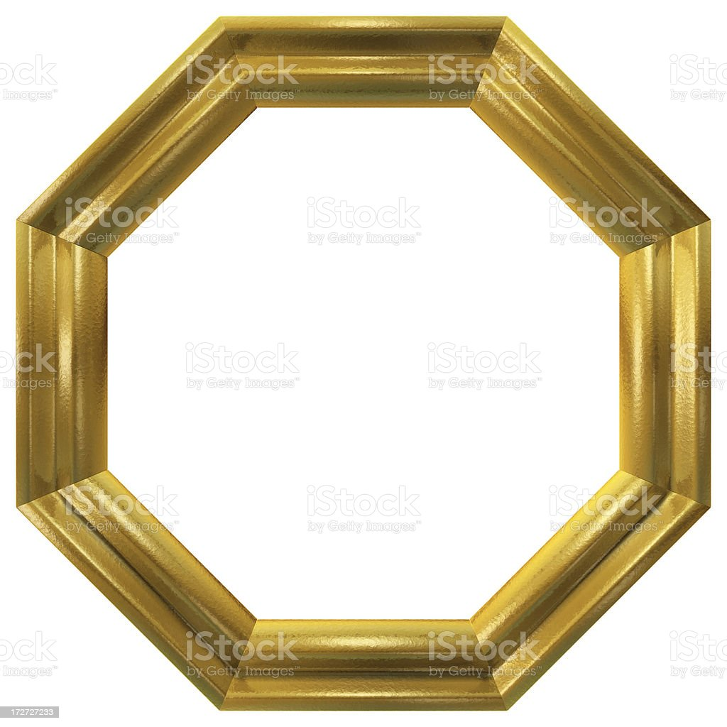 Eight Sided Frame Stock Photo & More Pictures of Cut Out   iStock