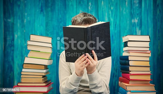 683105722 istock photo eight years old child reading a book 907858670
