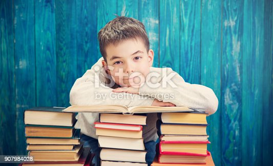 683105722 istock photo eight years old child reading a book 907984028