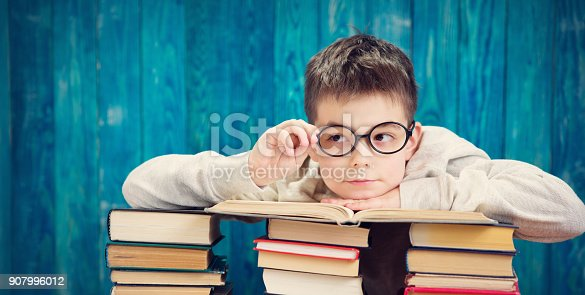 683105722 istock photo eight years old child reading a book 907996012