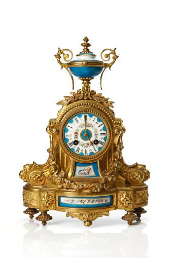 eighteen century antique table top clock