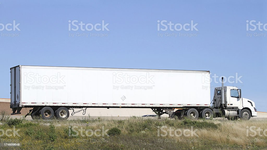 Eighteen Wheeler royalty-free stock photo