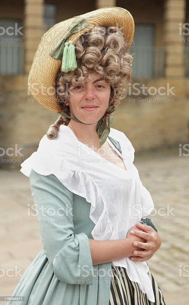 Eighteenth Century Lady royalty-free stock photo