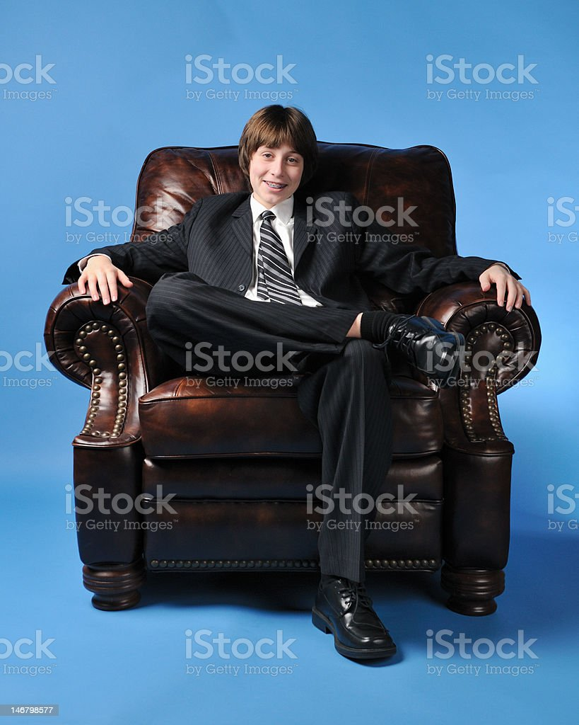 Eighth Grade CEO royalty-free stock photo