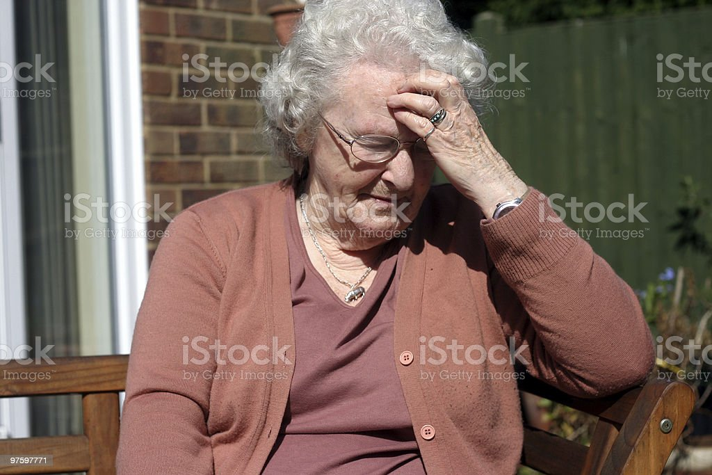 Eighty years young royalty-free stock photo