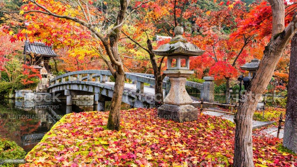 Eikando Tempel im Herbst, Kyoto, Japan – Foto